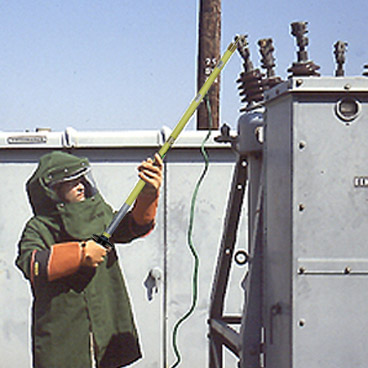 Overhead line testing and distribution profilers