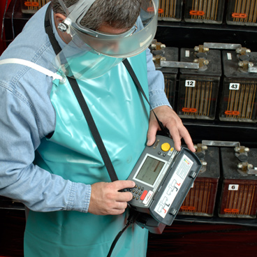 Battery testing equipment and systems for electricians