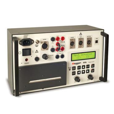 EGIL - Circuit breaker analyzer for breakers with one break per phase