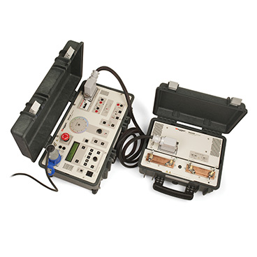 INGVAR - Portable 5000 A primary current injection test system