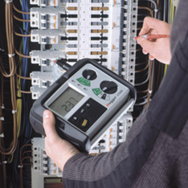Industrial loop and RCD test equipment