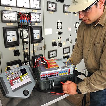 Test des relais et dispositifs de protection