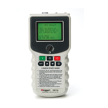 TTR25 - Hand-held Transformer Turns Ratio Tester